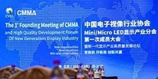 中国电子视像行业协会Mini/Micro LED显示产业分会 第一次成员大会暨新一代显示产业高质量发展论坛