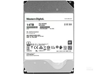 西部数据Ultrastar DC HC530 14TB 7200转 512MB SATA3(WUH721414ALE6L4)