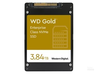西部数据Gold 企业级 NVMe SSD(3.84TB)