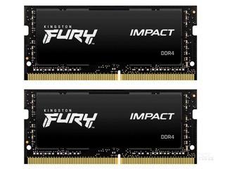金士顿FURY Impact 32GB(2×16GB)DDR4 2666(HX426S15IB2K2/32)