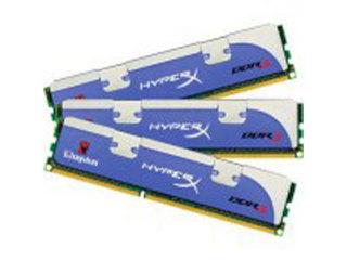 金士顿HyperX 3GB DDR3 1800(三通道套装)