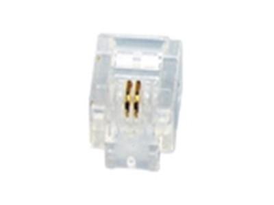 迪蒙 RJ11水晶头/语音(100个/盒)
