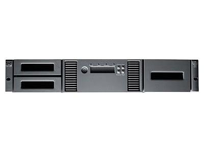 HP StorageWorks MSL2024 1 Ultrium 960 4Gb 光线信道磁带库(AG326B)