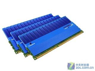 金士顿6GB DDR3 2000骇客神条(KHX2000C9D3T1K3)