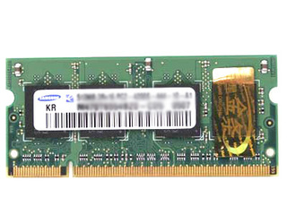 三星512MB DDR2 667(笔记本-金条)