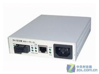 瑞斯康达 RC512-FE-S-S1独立式光纤收发器百兆单模双纤全新原装、质保3年