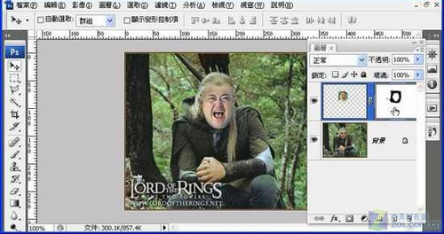 Photoshop移花接木教程 恶搞人面合成