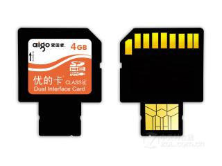 爱国者多功能存储卡8310(4GB)