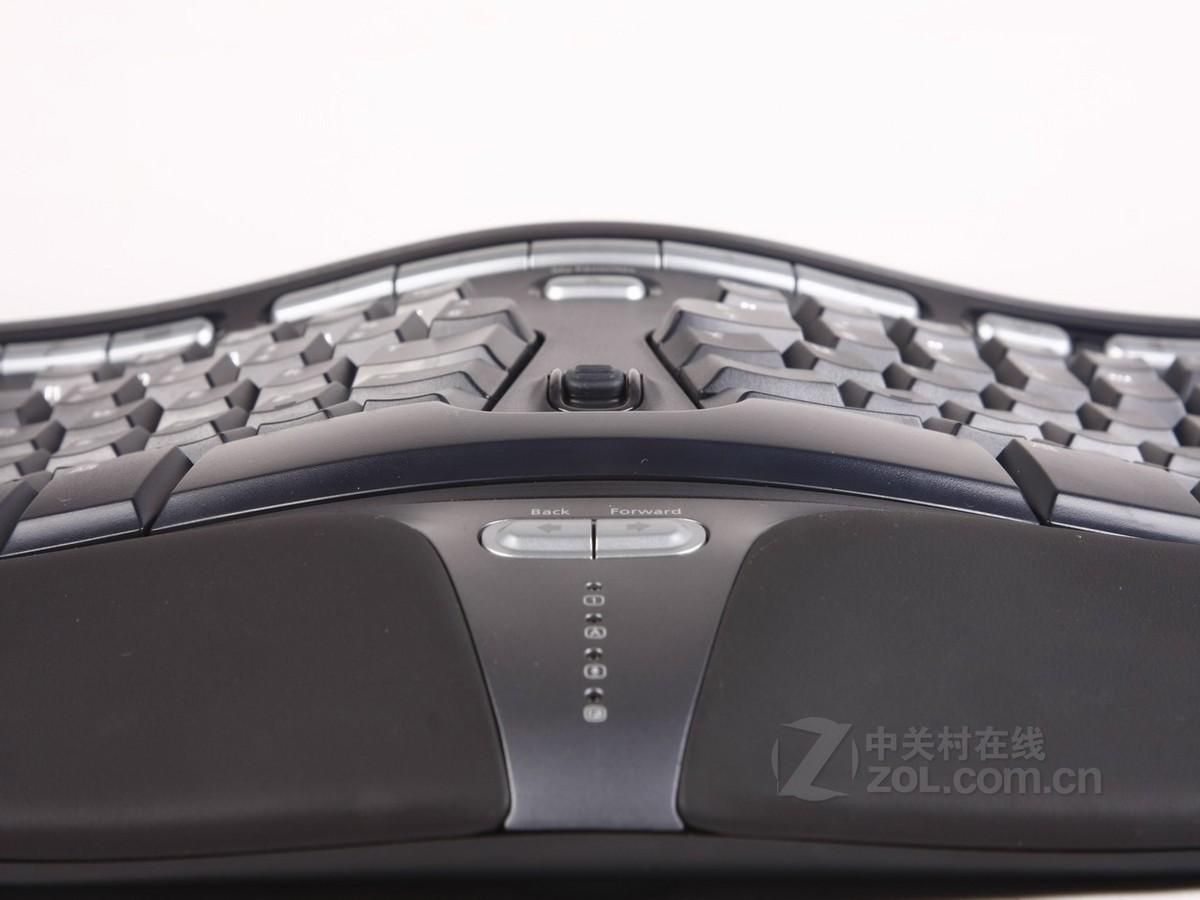 人体工程学键盘4000_【高清图】微软(microsoft)人体工学4000局部细节图 图13-ZOL中关村在线
