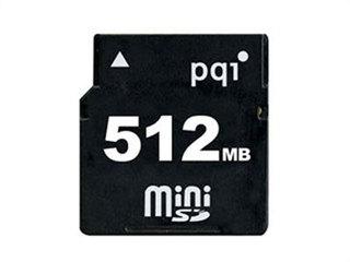 PQI Mini SD卡(512MB)