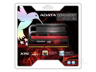 威刚极速飞龙 4GB DDR3 2200+ V2.0