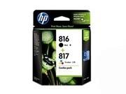 HP 816+817(CD941AA)彩黑套装