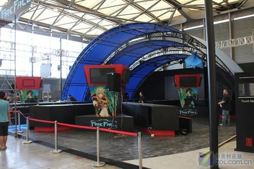 2011chinajoy九城RED5工作室展台抢先看