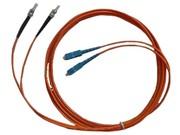 清华同方 3米双芯单模光纤跳线(ST-SC)(FJ2ST-SC-S3)