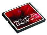 金士顿ultimate CF卡 266X(16GB)