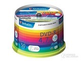 威宝彩虹系列DVD+R 16速 4.7G(50片桶装)