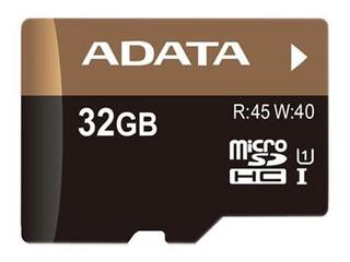威刚Premier Pro MicroSDHC卡 UHS-I U1(16GB)