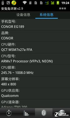 5吋1GHz双模双待大电 小酷EG189视频评测