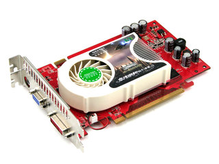 铭瑄 7600GS智能增强版128M