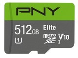 PNY Elite MicroSDXC精英高速卡(512GB)