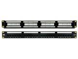 高岘超五类非屏蔽配线架GXCAT5e-24UP